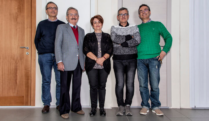 Roberto e Letizia, the team of Legno Service & Art